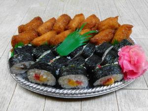 寿司皿盛り
